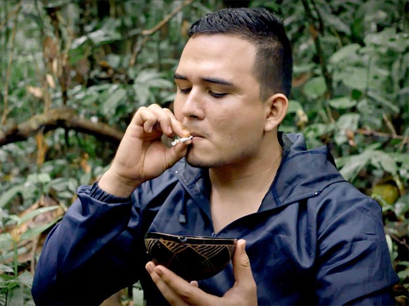 Chefor, motivador personal, protagonista de Cruzando el Amazonas