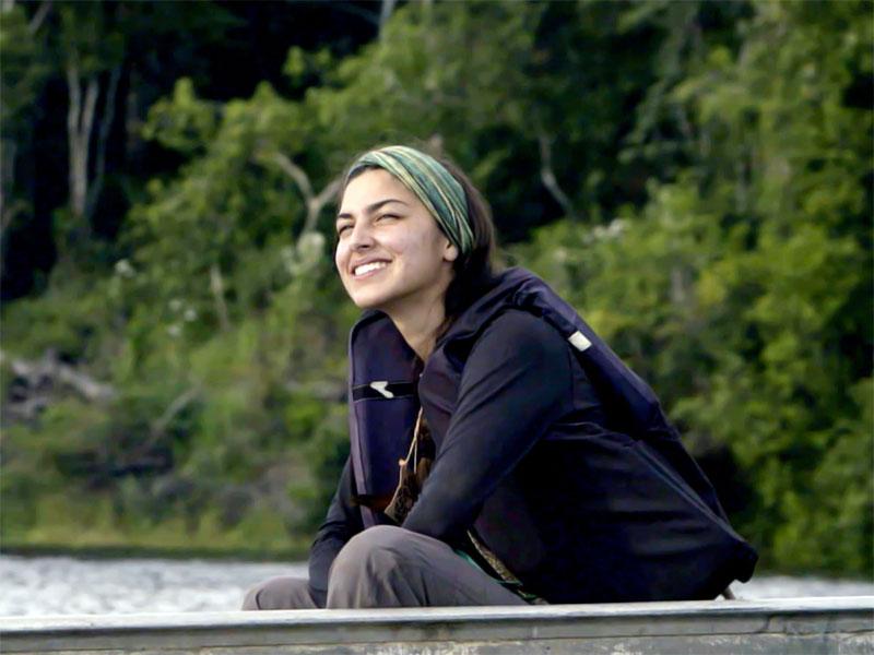Gabriela Jaramillo, ingeniera ambiental, protagonista de Cruzando el Amazonas