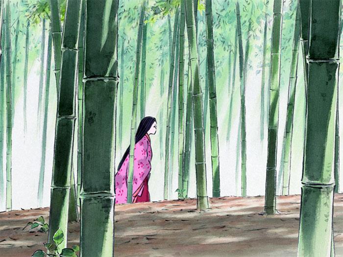Imagen de El cuento de la princesa Kaguya, de Isao Takahata - Studio Ghibli