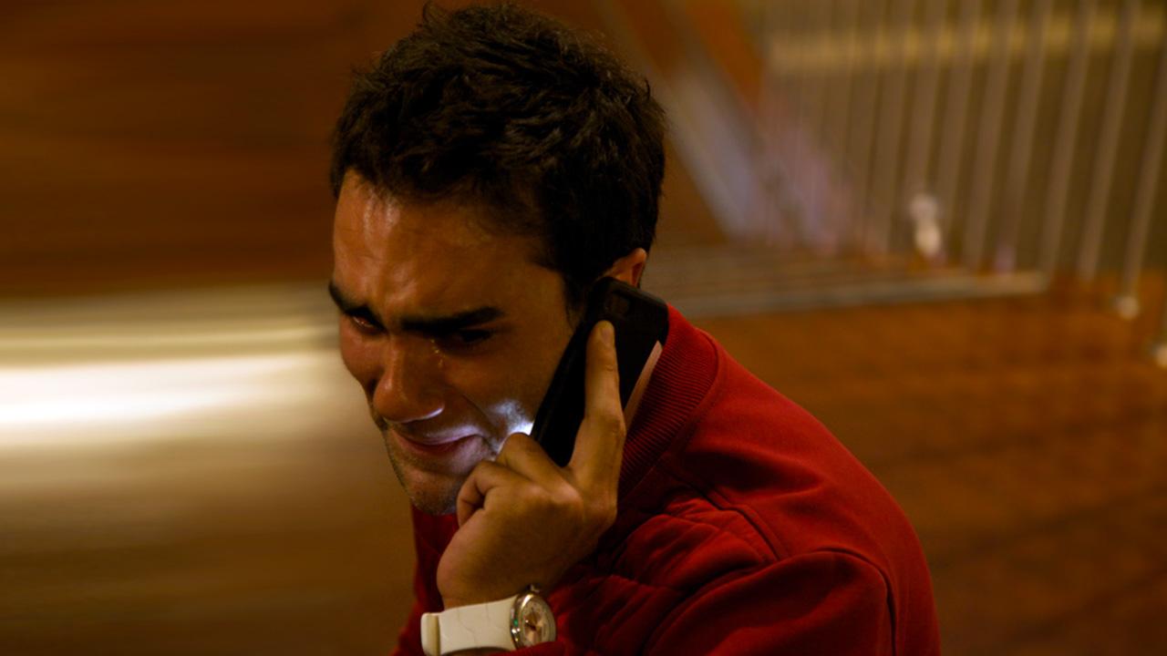 Felipe, protagonista de la serie Desconectados