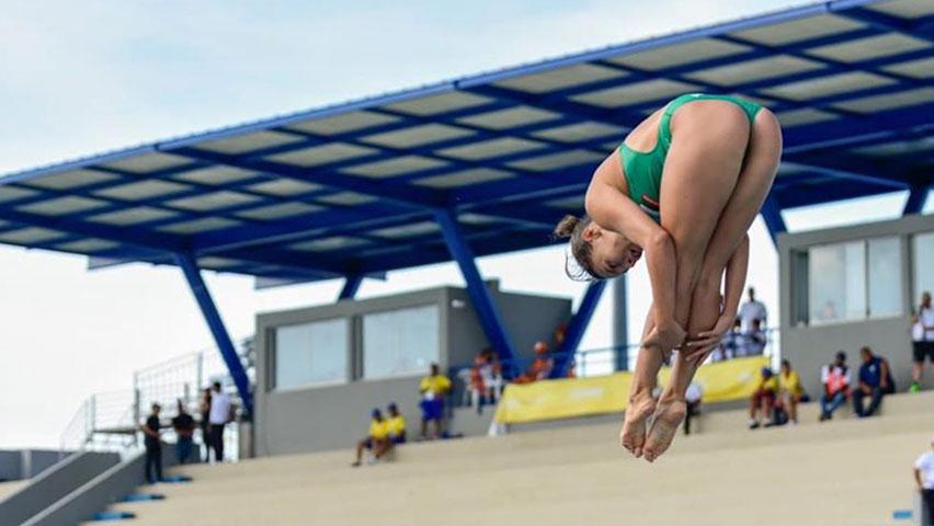 Diana Isabel Pineda en los Juegos Nacionales
