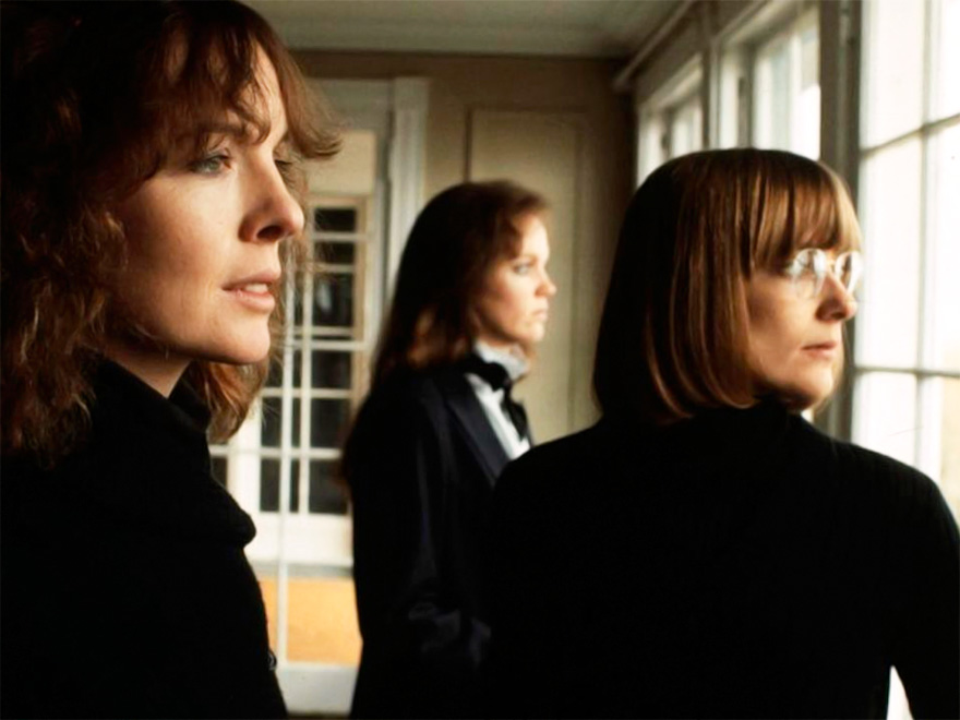 Diane Keaton, Mary Beth Hurt y Kristin Griffith en Interiores