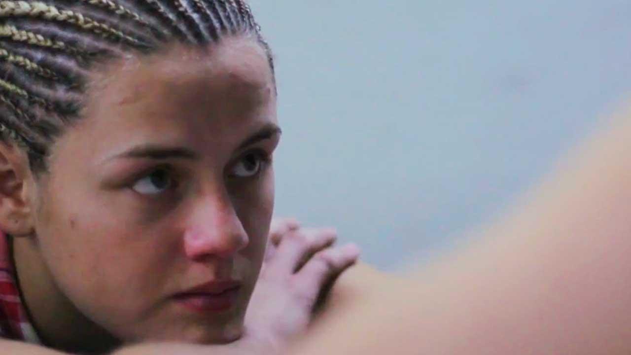 "Daniela Bermúdez, boxeadora protagonista del documental ""La bonita"""