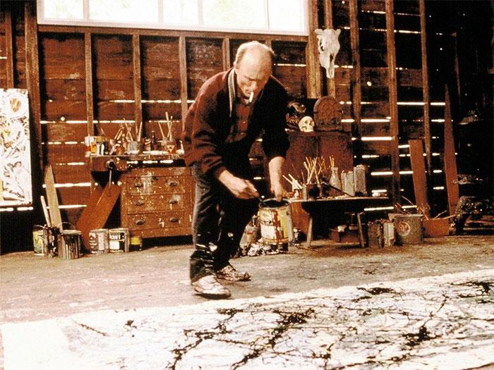 Ed Harris interpreta a Jackson Pollock
