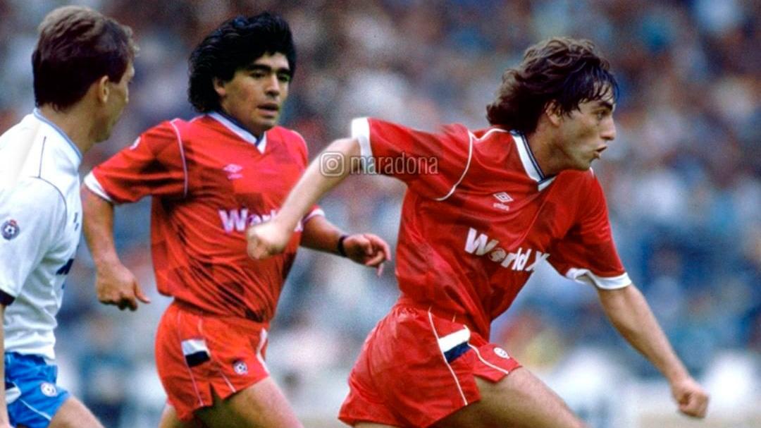 Los equipos y la huella de Diego Maradona en el mundo del fútbol