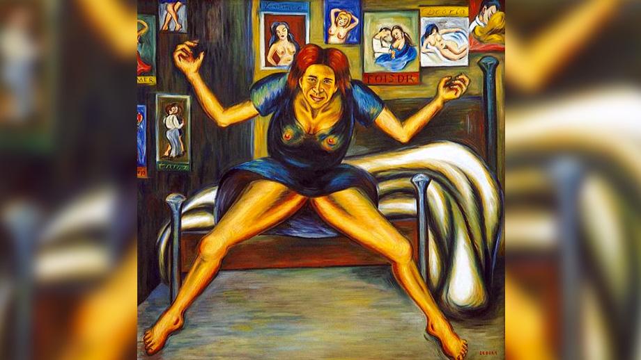 'Esquizofrenia en el manicomio', de Débora Arango (1940)
