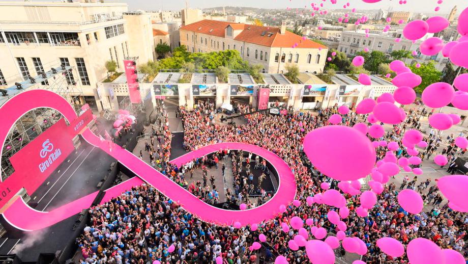 Giro de Italia 2018 inicia su camino en Jerusalén