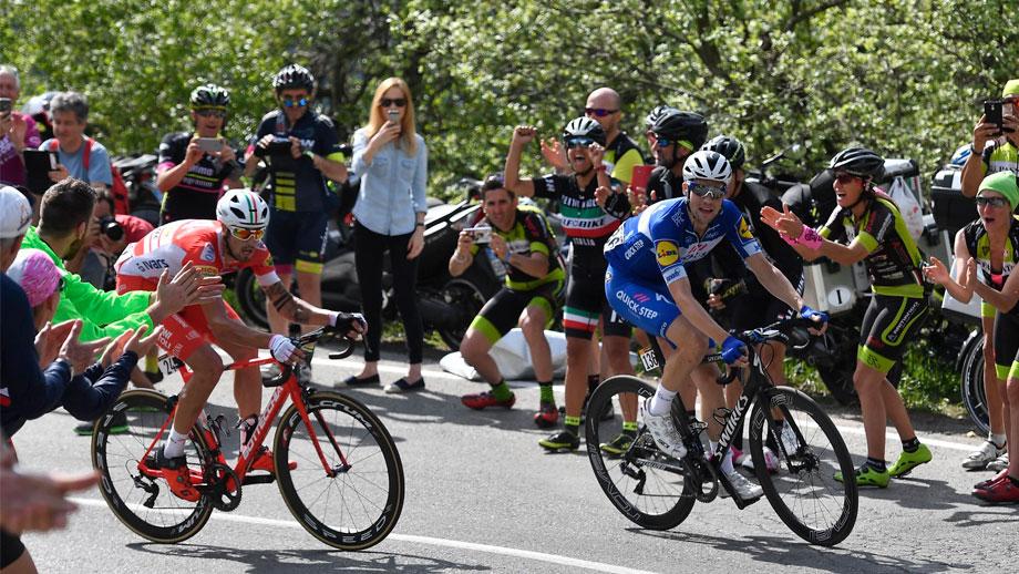 Maximilian Schachmann ganador de la etapa 18 del Giro de Italia / Giro Oficial