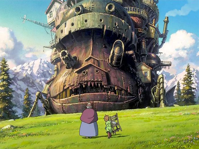 El increíble castillo vagabundo, de Hayao Miyazaki