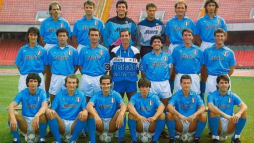 El amor de Diego Maradona con el Nápoli