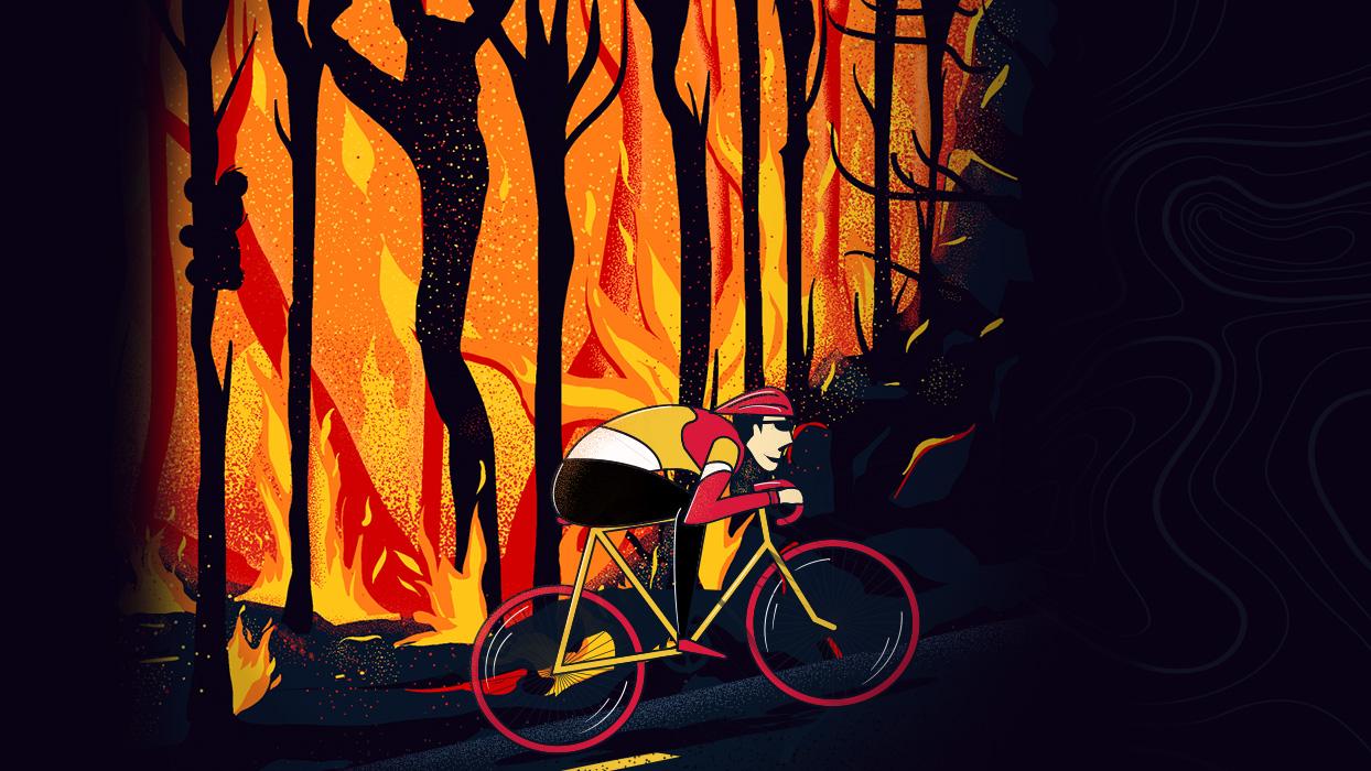 Adelaida está ubicada a 1150 kilómetros de Canberra, la ciudad más afectada por los incendios.