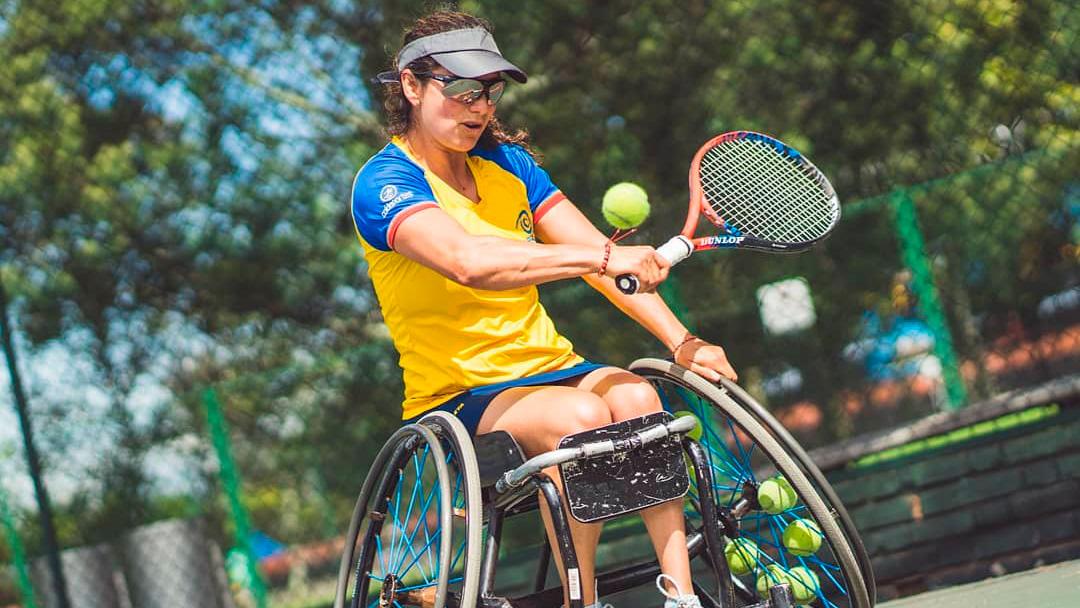 Camino a Tokio: Johana Martínez, leyenda del tenis en silla de ruedas