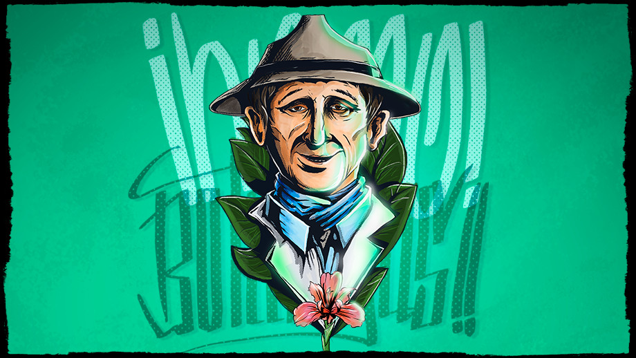 Ilustración de Julio Betancur por Cristhian Beltrán