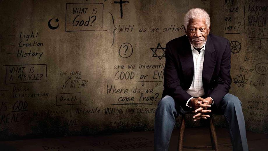 """Morgan Freeman presenta la serie """"La historia de Dios"""""""