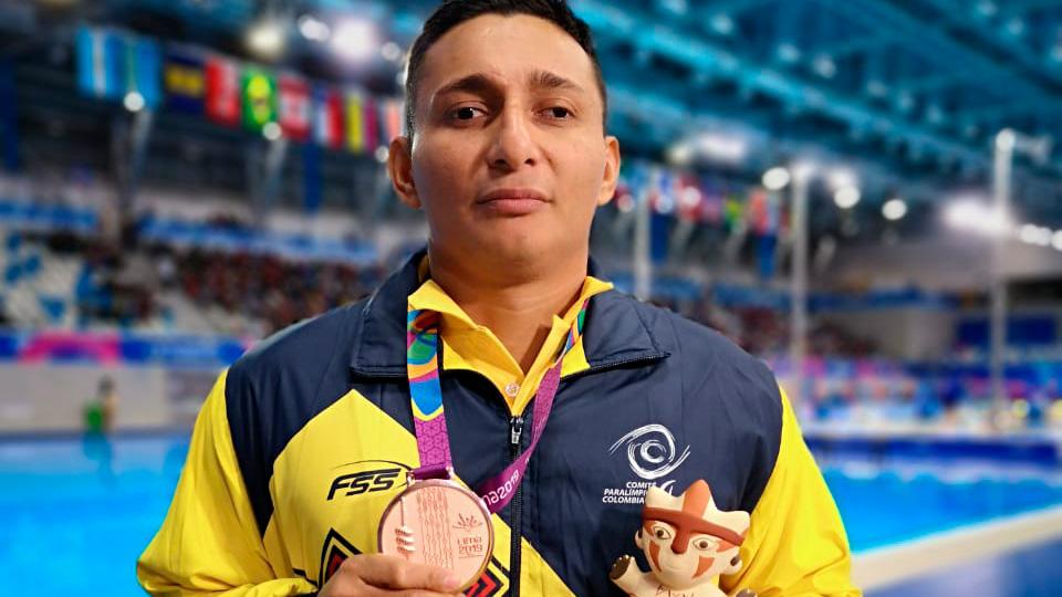 Leider Lemus busca meterse en el podio de los Juegos Paralímpicos de Tokio 2020.