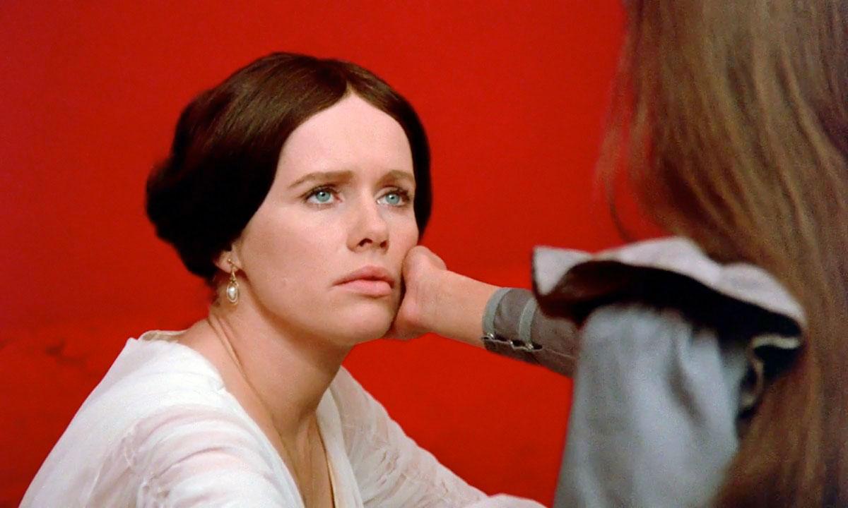 """Liv Ullman, protagonista de la película """"Gritos y susurros"""", de Ingmar Bergman."""