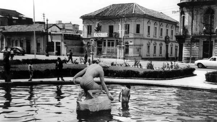Fuente La Rebeca en Bogotá. Foto de Manuel H.