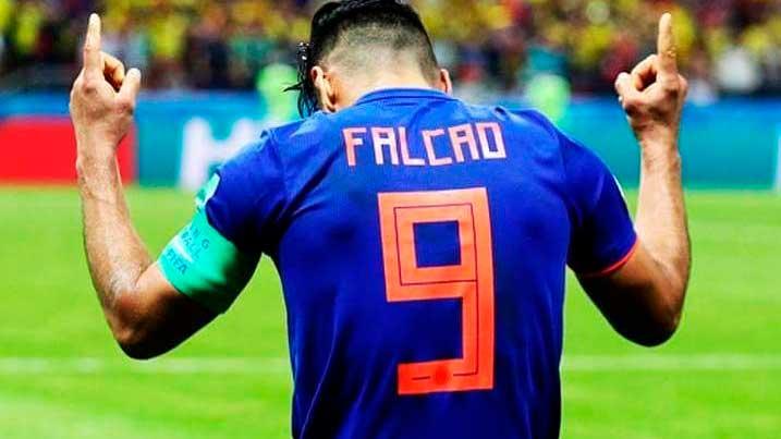 Cinco de los mejores y más recordados goles de Radamel Falcao García