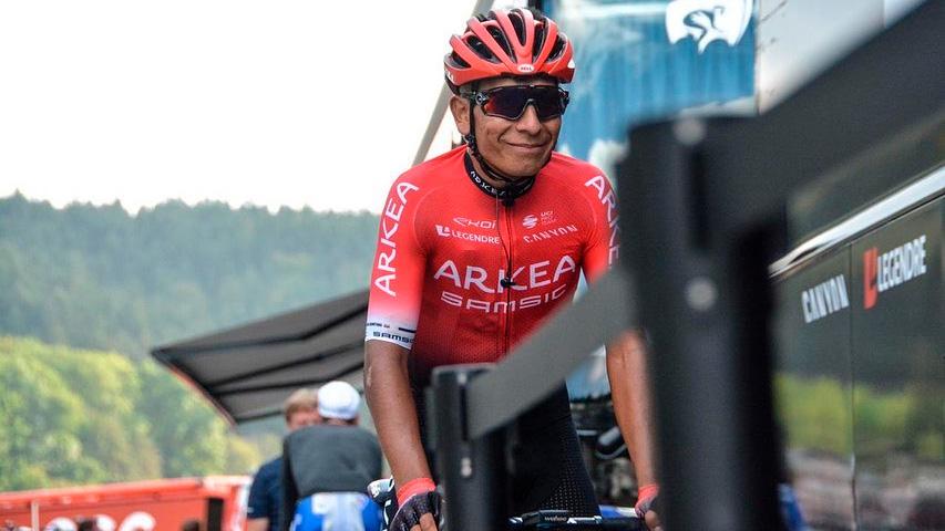 Nairo Quintana correría el Giro de Italia 2021