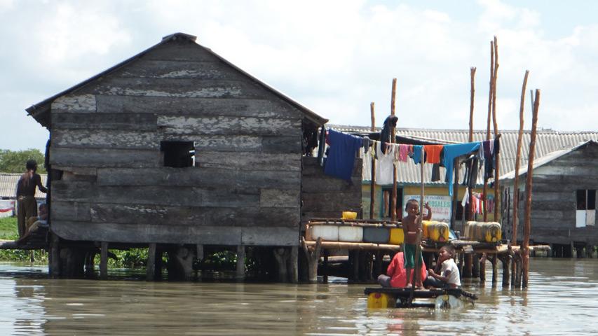 Fotograma del documental Nueva Venecia.