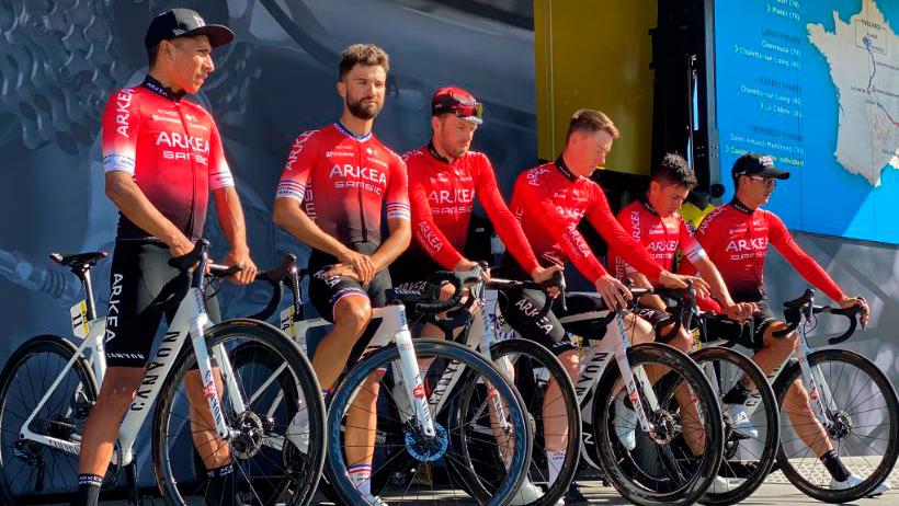 Nairo Quintana, Winner Anacona, Dayer Quintana y Sergio Higuita fueron protagonistas de la París-Niza 2020.