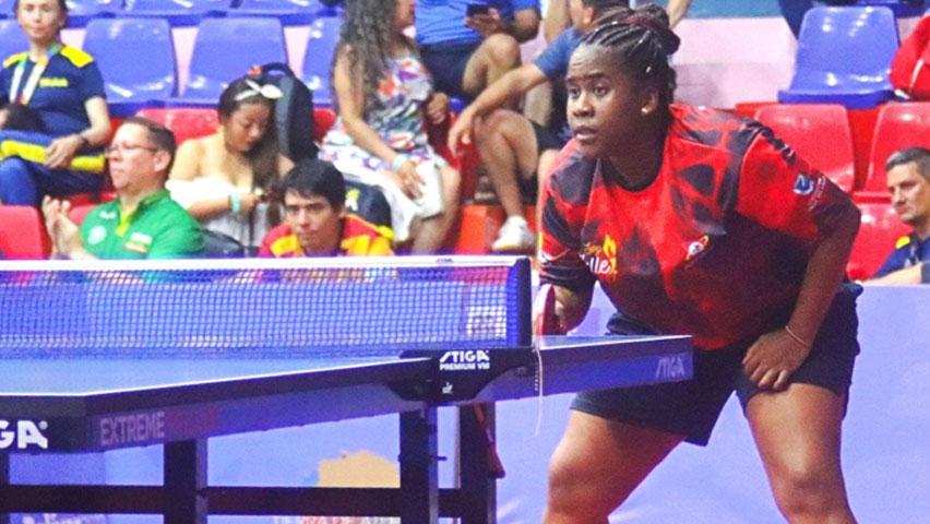 Paula Medina en los Juegos Nacionales Bolívar 2019