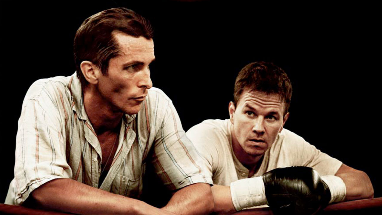 Christian Bale y Mark Wahlberg en El Ganador