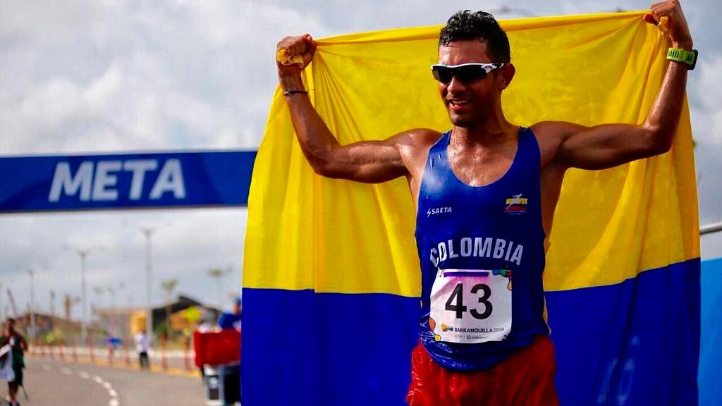 Perfil atleta Éider Arévalo