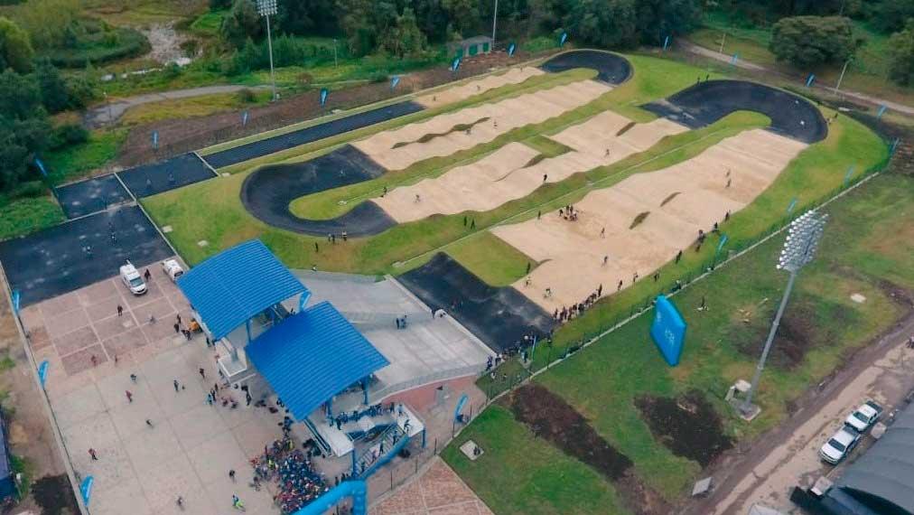 La pista que recibe la Copa Mundo de BMX