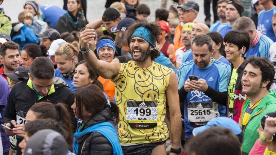 Fotograma de la serie Maraton Man.