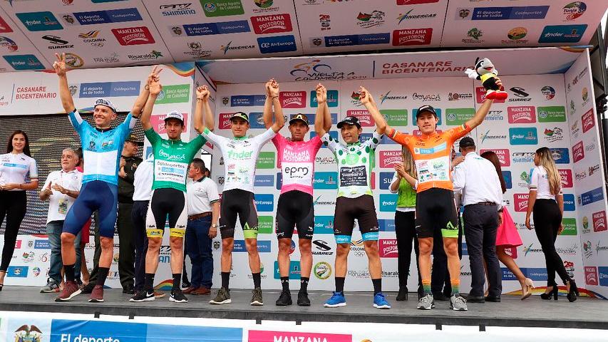 Recorrido de La Vuelta a Colombia masculina 2020
