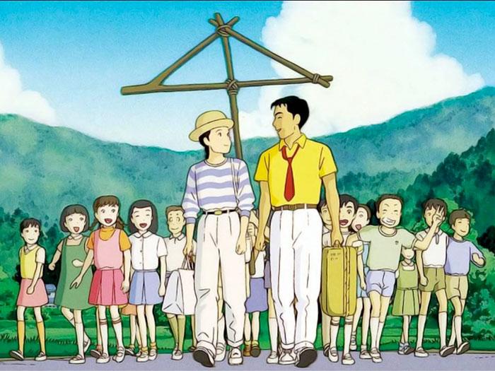Imagen de Recuerdos del ayer, de Isao Takahata - Studio Ghibli