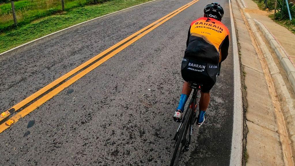Santiago Buitrago, uno de los ciclistas colombianos en La Vuelta 2020