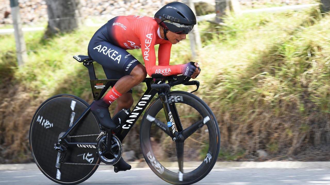 Nairo Quintana y Winner Anacona debutan con el Team Arkéa Samsic.