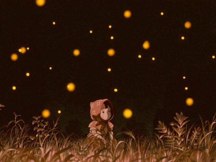 Imagen de La tumba de las luciérnagas, de Isao Takahata - Studio Ghibli