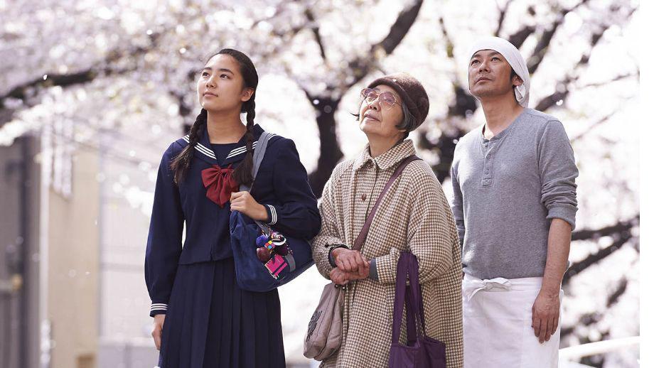 Protagonistas de la película 'Una pastelería en Tokio'