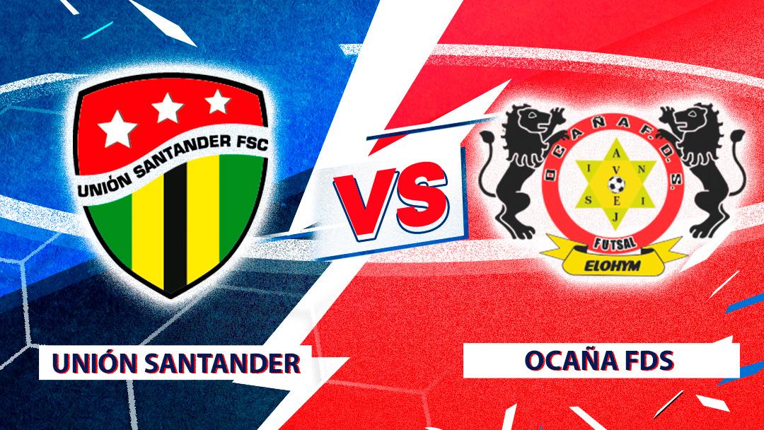 Mira en vivo el duelo entre Unión Santander Vs. Ocaña FDS por la Superliga de Microfútbol 2020