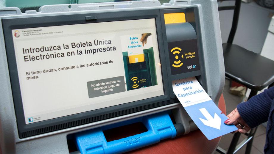 Votación electrónica