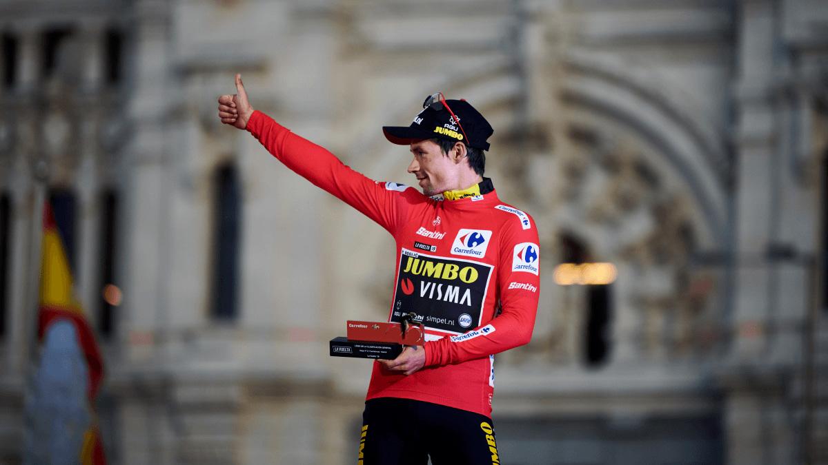 El esloveno Primoz Poglic, del Jumbo Visma es el actual campeón de la Vuelta a España.