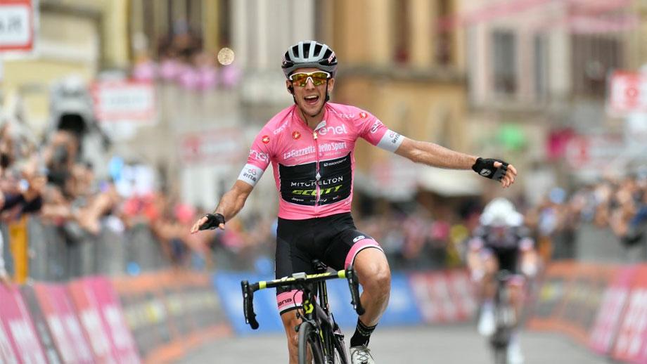 Simon Yates, ganador de la etapa 11 del Giro de Italia