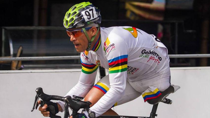 Álvaro Galvis, ciclista paralímpico / Movistar Team