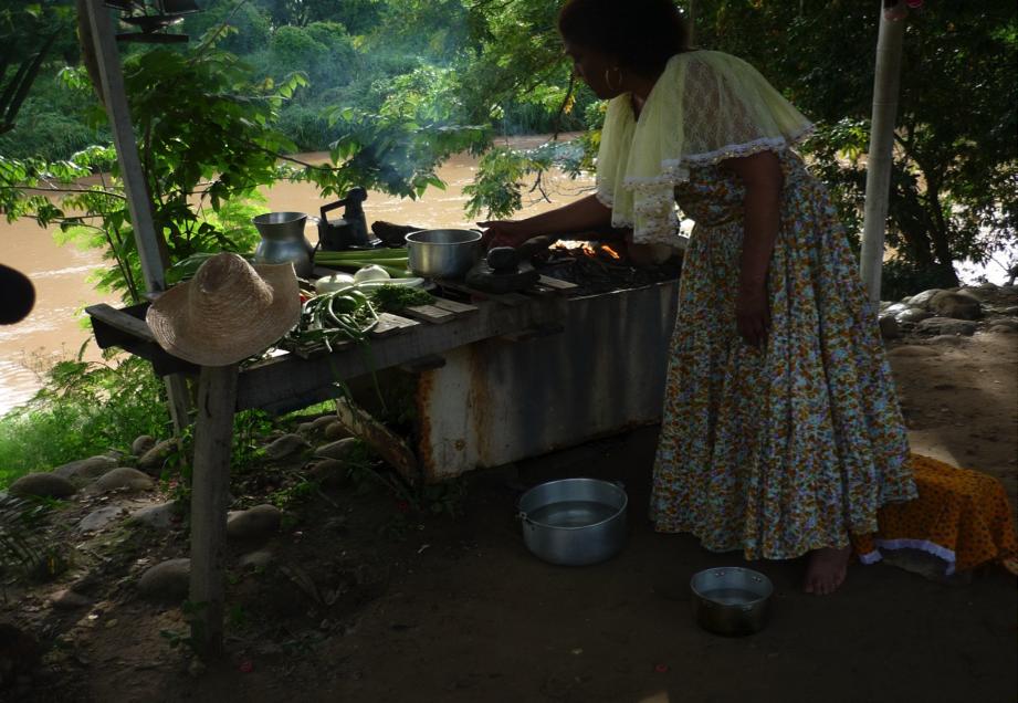la comida en la historia del pueblo negro