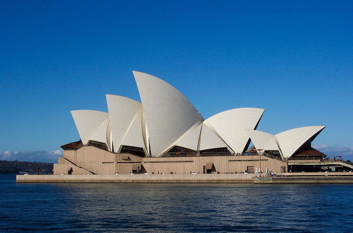 Foto de la Ópera de Sydney. Fuente: Wikipedia.