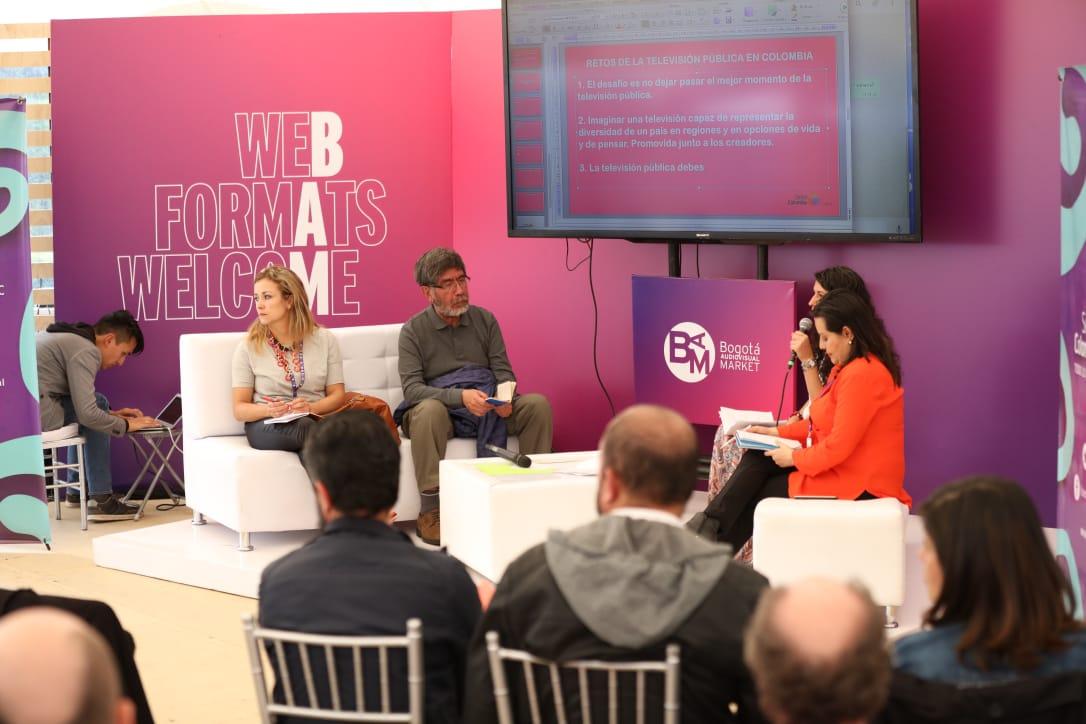 Conversatorio en el BAM Forum.