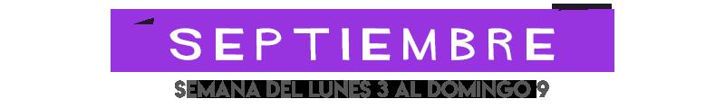 Películas de cine de septiembre en Señal Colombia