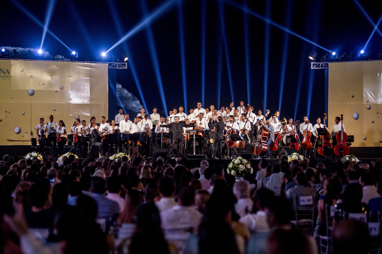 Concierto de música clásica durante festival de música de Cartagena