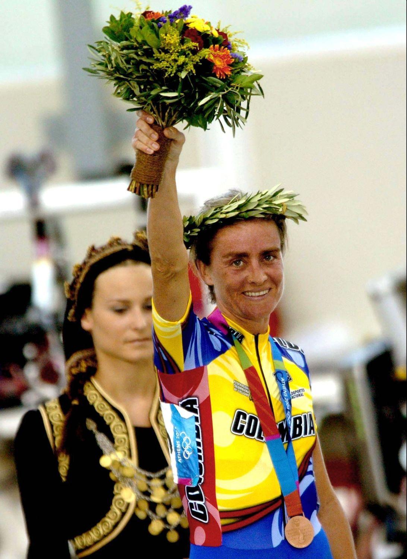 María Luisa Calle, exciclista colombiana / Comité Olímpico Colombiano