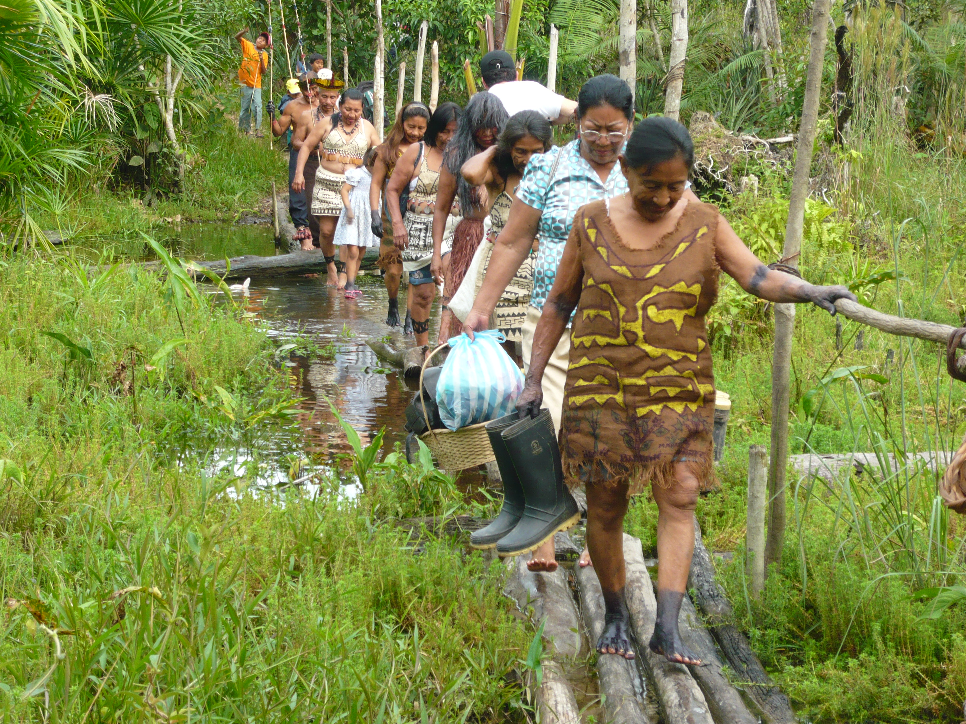 """Imagen de la serie """"Ancestros tribales de Señal Colombia""""."""