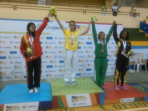 Angie Vanessa López, taekwondista colombiana / Tomada Cauca.gov
