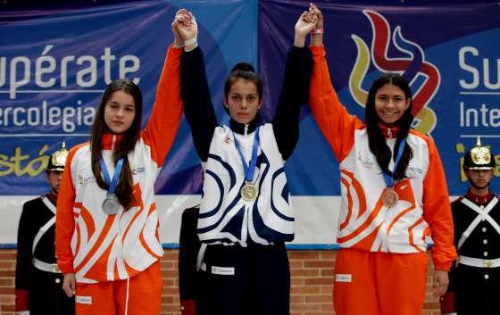 Angie Vanessa López, taekwondista colombiana / Tomada Coldeportes